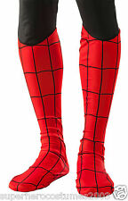 Spider-Man Adult Deluxe Boot Covers Marvel Comics - Red - Rubies 35657