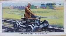 No.41 GANGER'S MOTOR TROLLEY Railway Equipment W.D.& H.D Wills 1938