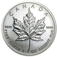 Royal Canadian Mint Kanada Maple Leaf 2008 5 CAD 1 oz 999 Silber Silbermünze