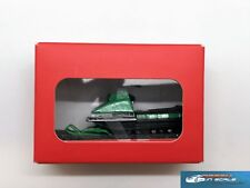 Exclusive! Snowmobile (motorcycle) Layka-2 green Modelstroy resin 1:43