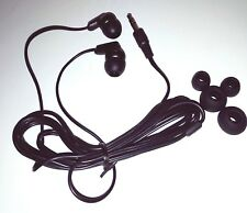 In Ear Headphones  3.5mm - Music - For Phones - Tablet - Laptop - Black