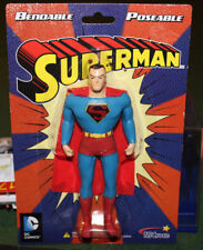 DC Comics Justice League  ~ Superman Bendable Poseable Superhero Action Figure