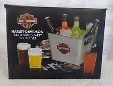 Harley Davidson Bar & Shield Party Bucket Set