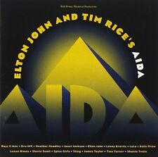 Elton John And Tim Rice's Aida CD NEW Sting/James Taylor/Spice Girls/Lulu+