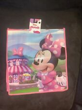 New listing Disney Minnie Mouse Grocrery Shopping Treat Tote Bag Reusable Eco W/ Handles