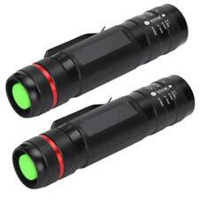 2pcs 8000Lumens CREE XM-L XML T6 LED Flashlight Zoomable Torch Light Lamp Saving