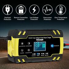KFZ Auto Batterie Ladegerät Reparatur Akku Starthilfe 12/24V 6-150AH PKW LKW DHL