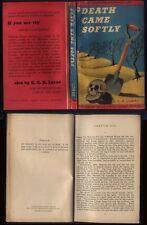 1945 E.C.R. Lorac, DEATH CAME SOFTLY, Collins white Circle Pocket Ed, CANADA