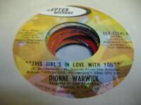 Soul 45 DIONNE WARWICK This Girl's In Love With You on Scepter