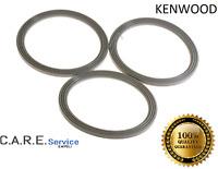 - KENWOOD -  GUARNIZIONE BICCHIERE ROBOT FRULLATORE 3 PEZZI  -  FP... KW680939