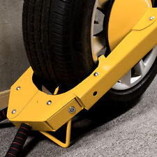 Parking Boot Car Tire Claw Anti Theft Wheel Lock Clamp RV Boat Truck Trailer J