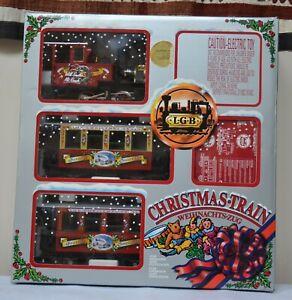 LGB G Scale The Big Train 72534 Christmas Train Set NIB RARE Germany