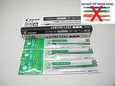 5 Green for Pilot FRIXION Ball 3 PILOT 0.5mm gel roller pen only refill (Japan)