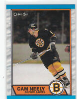 89/90 OPC...CAM NEELY...CARD # 15...BRUINS...FREE COMBINED SHIPPING