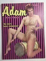Vtg Adam Magazine V.3 #5 1959 Beautiful Ron Vogel Nude Girlie Risqué Pinups