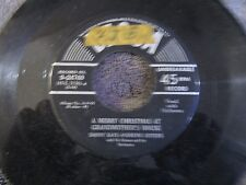 Danny Kaye & Andrew Sisters, A Merry Christmas at GrandMother's House/My Two Fro
