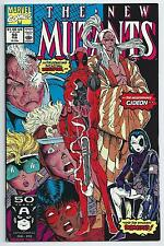 **THE NEW MUTANTS #98**(FEB 1991, MARVEL)**1ST APP. OF DEADPOOL**KEY**VF / FN**