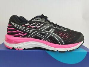 Asics Gel Cumulus 21 W 'Black Pink' New (US6.5) running training Women trainer