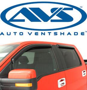 AVS 94522 Tape-On Window Shades Ventvisors 4-Piece Smoke 99-13 Ford F250 F350