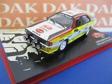 Die cast 1/43 Modellino Auto Audi Quattro A2 Rally Monte Carlo 1984 S.Blomqvist