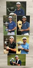 More details for dustin johnson - us golf - wgc - fedex cup - sentry - 6 x 6x4 unsigned photos