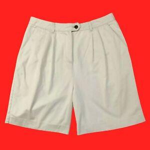 🌸 BASIC  EDITIONS ... 100%  Cotton  Light  Beige  Shorts ... Size   14 🌸