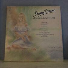 VARIOUS Broken Dreams 28 Heartbreaking Love Songs 1984 UK VINYL LP  EXCELLENT