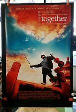 TOGETHER 2002 RARE 1-SHEET MOVIE THEATRE POSTER * CHEN KAIGE TANG YUN LIU PEIQI