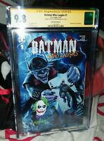 The Batman Who Laughs 1 Mayhew Variant CGC 9.8 SS & Remarked W/ Ledger Joker!