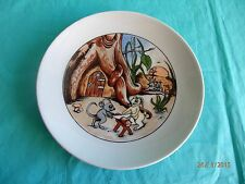 Kahla, 1 Kuchenteller, Hase, Ostern, Porzellan, GDR, signiert:Al, Kindergeschirr
