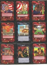 * ALL 200 Common Set * Illuminati INWO Card Game *  New World Order *  Nuke *