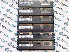 96GB (6x 16GB) DDR3 RAM Hynix HMT42GR7BMR4A-G7 REG ECC - 4Rx4 PC3L-8500R-7-10-F0