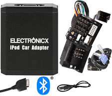 Adapter Aux Bluetooth IPHONE IPAD Ipod Renault 12 Pin