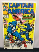 Captain America #351 Nick Fury S.H.I.E.L.D. Marvel Comics VF