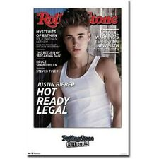 2012 JUSTIN BIEBER ROLLING STONE COVER POSTER NEW 22x34 FAST FREE SHIPPING
