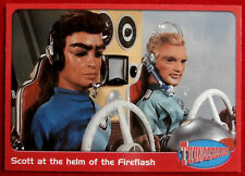 THUNDERBIRDS - Scott at the Helm of the Fireflash - Card #60 - Cards Inc 2001