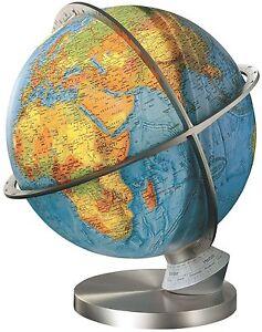 Columbus Marco Polo Illuminated 13 Inch Desktop World Globe