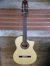 Cordoba GK Studio Negra Acoustic-Electric Flamenco Guitar w/Bag - Blem #CH42