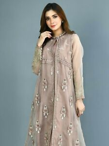 LIMELIGHT EMBROIDERED ORGANZA SUIT Maria b. Agha Noor,KHAADI PARTY EID FORMAL
