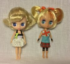 Littlest Pet Shop LPS Blythe B3 & B13 Fabulously vintage & Sightseeing Doll T4
