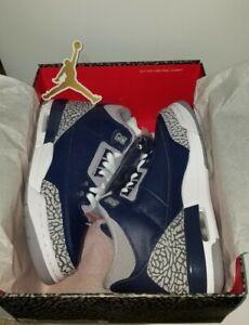 Nike Air Jordan 3 Retro Georgetown Midnight Navy Cement Grey CT8532-401