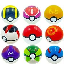 9PCS Pokemon Pokeball Pop-up Cosplay Master Great Ultra Balls Kids Toys Gift set