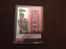 2010-11 Panini Totally Certified Gordon Hayward #154 rookie RC AutoRPA Red 15/99