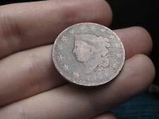 1821 Matron Head Large Cent Penny- Semi Key Date