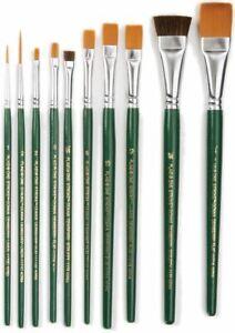 One Stroke Brush Set-10/Pkg -1059