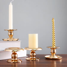 Retro Gold Candle Holders For Candles Candlestick Holder For Wedding Decoration