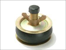 "Bailey 1960 Drain Test Plug 4"" 100mm Plastic Cap Steel Plate Brass Rubber Bung"