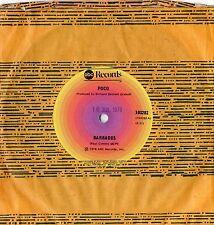 """POCO - BARBADOS - 7"""" 45 VINYL RECORD - 1979"""