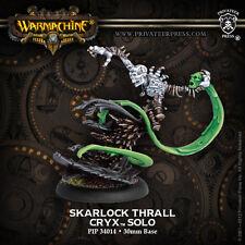 Warmachine: Cryx - Skarlock Thrall - Solo PIP 34014 NEW