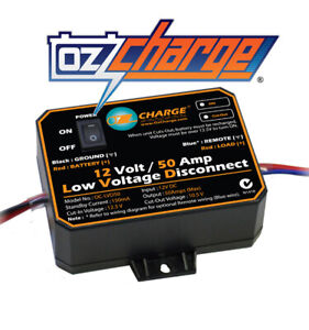Projecta 12V 50A Low Voltage Disconnect - Dual Battery Systems Accessories